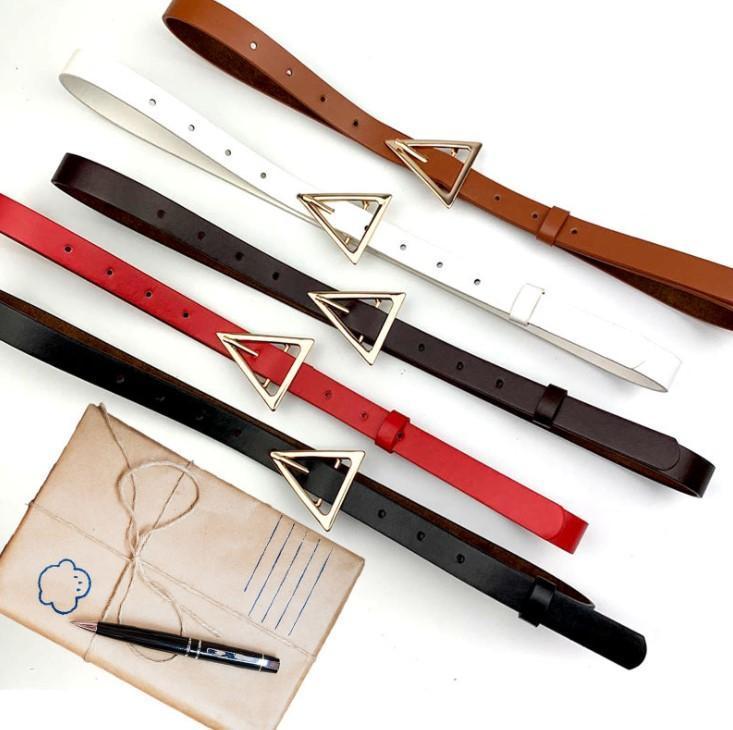 Горячая продажа женщина пояса женщин способа пояса вскользь Гладкая пряжки пояса 5 Цвет Дополнительные Высококвалифицированные качества