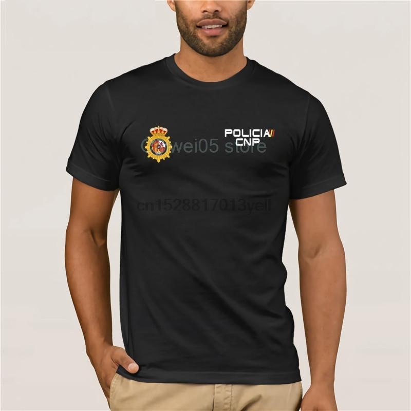 UIP Upr Анти T-Shirt spana Policia Испания Бунт Спецназ Geo Национальная полиция Спр футболки для мужчин Goes силы Мужчины Прохладный Мужская мода