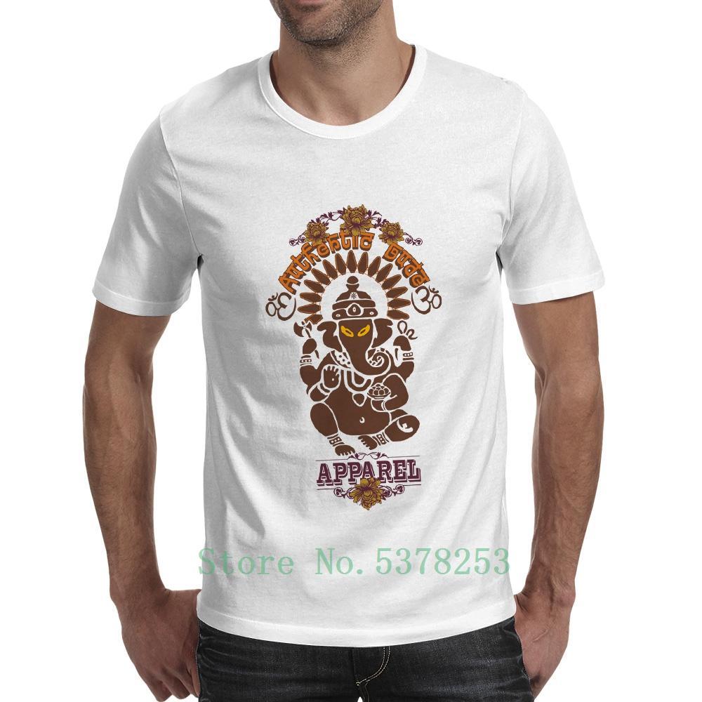 Auténtica Amigo Apparel Camiseta Ganesha de Dios indio misterio Marca camiseta divertida de la roca unisex de Hip Hop Tee Imprimir