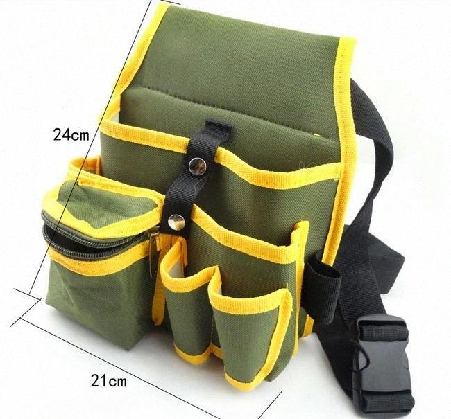 elektrikçi için siyah multifuntional araçlar çanta ile Sunred kaliteli yeşil 600D yoğunluk NO.104-1 Freeshipping Vj44 #
