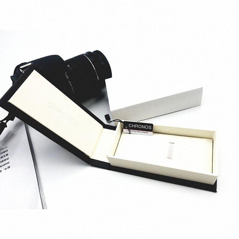 Chronos Özel İzle Hediye Kutusu Moda İzle Kutusu EDeu # Kağıt Jenerik Watchcase Vaka Saatler Lüks Paketleme için