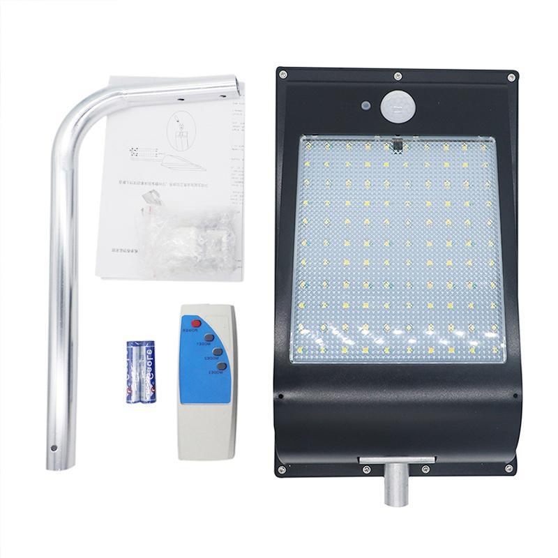 11000mAh esterna ha condotto la luce solare 110 Movimento luci sensore Super Security LED luminoso della luce di notte Flood con 3 modalità remota 6W di controllo