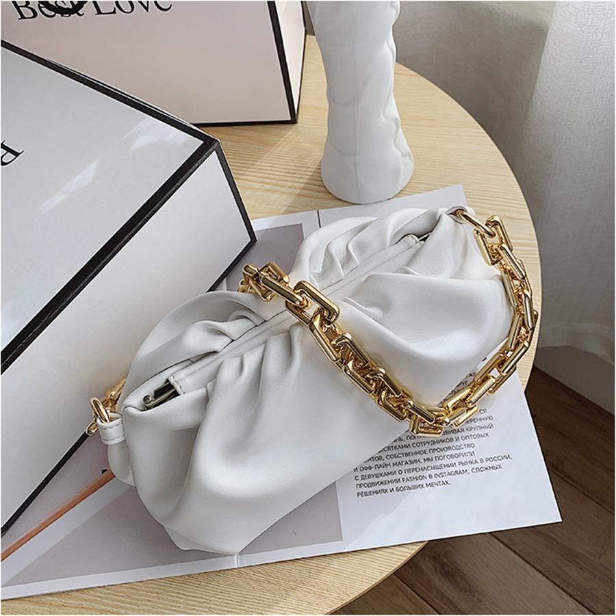 Signore Cinghia larga Messenger Bag Moda Rivet spalla Crossbody Borse donne eleganti borsa Telefono borsa CC # 515
