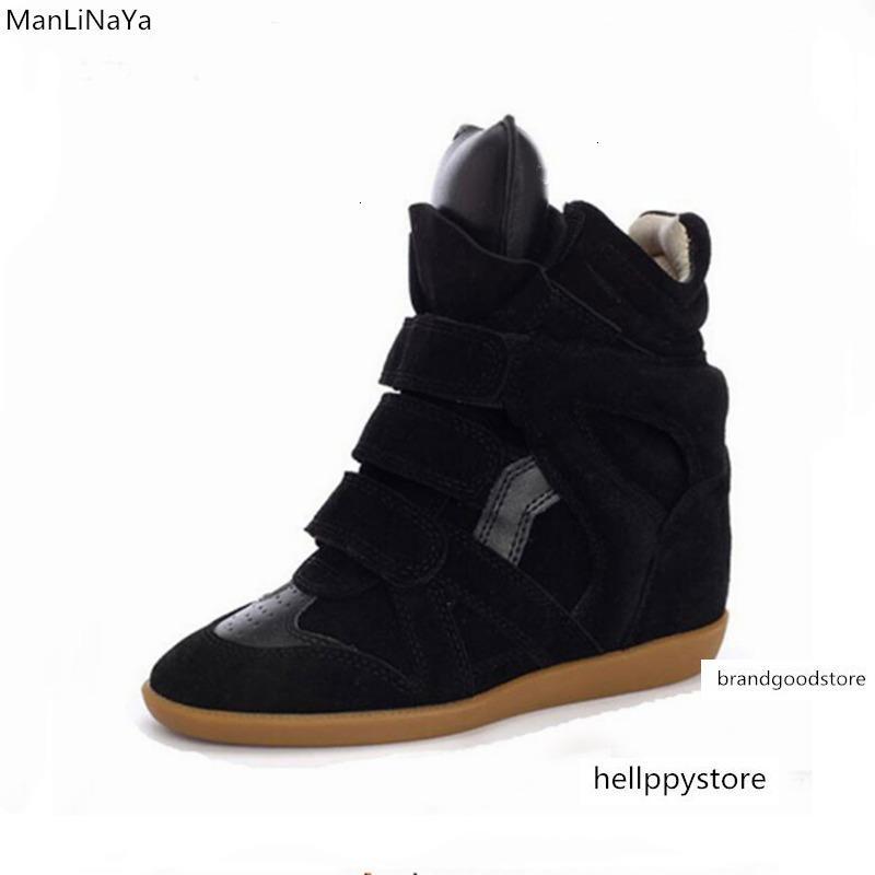 Womens Hidden Heel Wedge Sneakers
