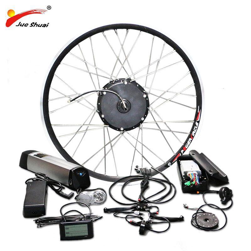 AB RU Duty Free Yok Vergi 36V 250W-500W Elektrikli Bisiklet Takımı Hub Taş Motoru 36V10AH Pil Ebike e bisiklet Elektrik Dönüşüm Kiti