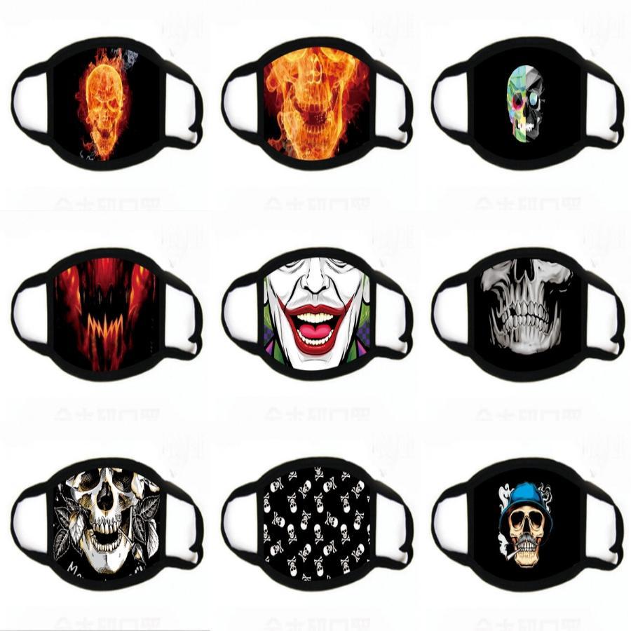 Rápido 1Day Disposale anti-poeira Reatale Fa máscara máscaras Ear Poeira Laço Fa Mout impressão Máscara 3-Ply Segurança # 537
