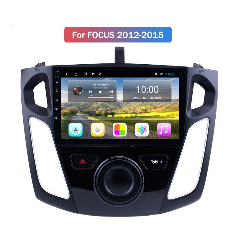 """2 Din Autoradio Car Radio for Ford FOCUS 2012-2015 9"""" HD Touch Screen Digital Display Bluetooth FM DVD USB SD Mirror"""