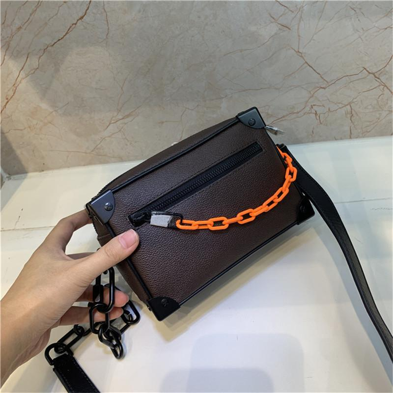 2022Female Mini Soft Trunk 1:1 Genuine Leather Clutch Bags Hign End Version Handbag for Women Female M44480 Trunk Hand Bag