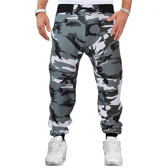 Mens Pencil Pant Camouflage Mens Pants Stretch Casual Male Trousers Running Designer Spring Fitness Drawstring