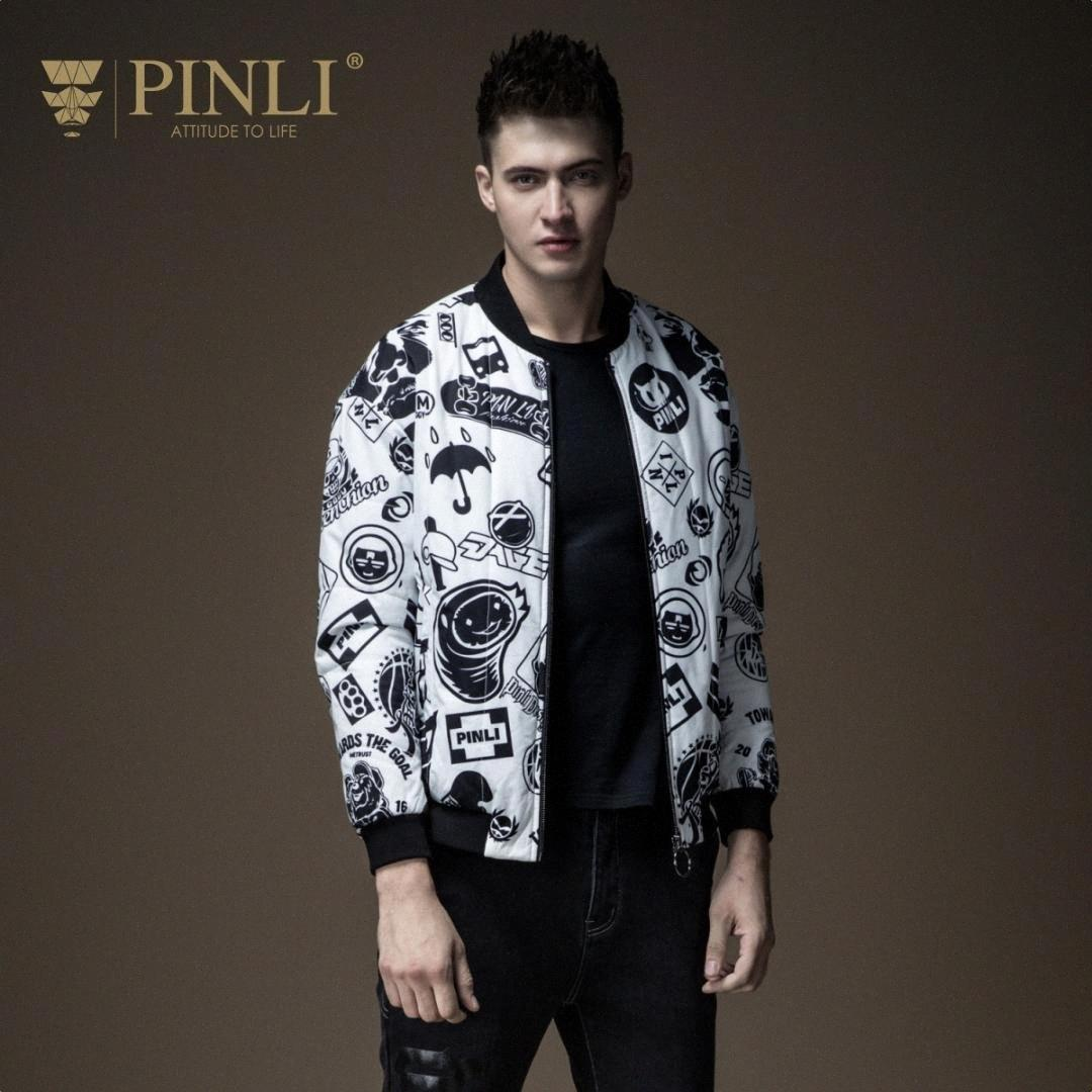 Indossare Giacca inverno degli uomini Giacche New Real Pinli Pin Lai Uomo Autunno, intimo, Doodling, Via baseball, cappotto del collare, B183505581 6SSi #