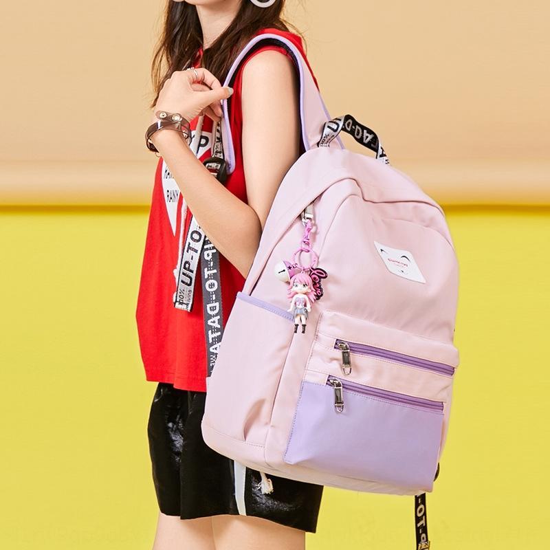 PWLey estate nuovi femminile Harajuku ulzzang moda studente di scuola superiore versatile semplice estate Schoolbag nuovo zainetto femminili Harajuku ulzzang
