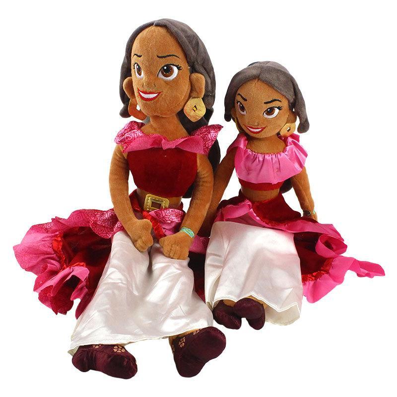Beleza dos desenhos animados Elena 40-50cm presentes do Dia das Bruxas aniversário Plush Doll brinquedos de pelúcia Animais caçoa o presente de Natal Transporte rápido