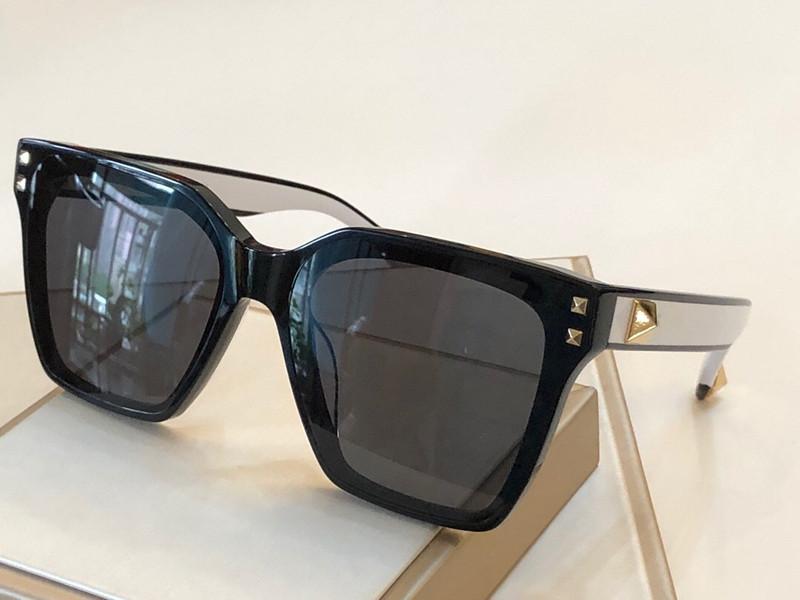 Parlak Altın Sıcak satmak Altın 2020 En kaliteli UV400 kaplı 4096 moda tasarım kadınlar için tam çerçeve Vintage tasarımcı güneş gözlüğü Sunglasses