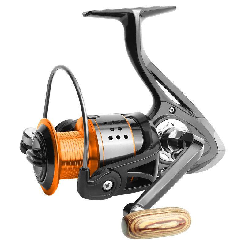 الصيد بكرة FA1000-6000 لا الفجوة المعادن بكرة ماكس سحب 8KG بايك غزل بكرة عالية السرعة 5.2: 1 بكرة معدات الصيد PESCA