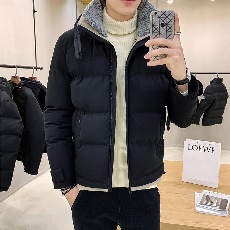 Men's Down & Parkas 2021 Mens Jacket Fashion Slim Male Hip Hop Men Winter Warm High Quality Casual Coat Big Size M-4XL