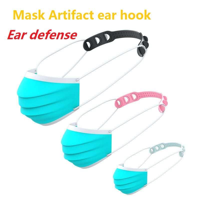 Kanca Uzatma Kancalar Ayarlanabilir Kaymaz Maske Kulak kulplar Maske Noktası Toka Tutucu Toptan Uzatma Toka Yüz Maskeleri Maske Anti-skid
