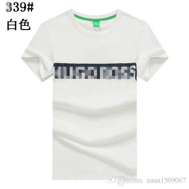 2020 Sommer Ice Cool Modal Stretch-Baumwolle Rundhals Kurzarm T-Shirt lässig joker Baumwolle halbe Hülse T-Shirt HAKA