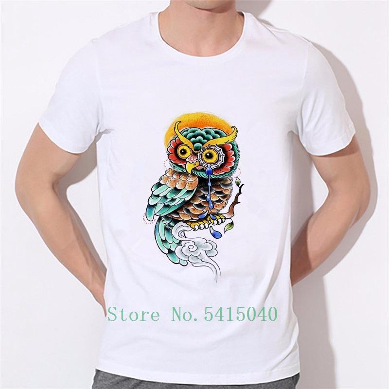 2019 Yeni Erkekler T Shirt Ovo Altın Baykuş OVOXO Tanrı Göz İçin Adam Gömlek Tees Erkek Baskılı Homme Marka Erkek T-Shirt