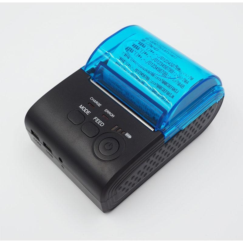 TP-B5805AI 2 موبايل استلام الطابعة الحرارية 58MM استلام الطابعة الحرارية بلوتوث