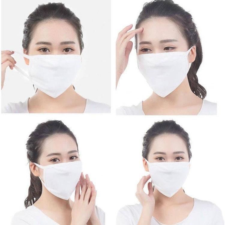 Facemes de coton Masque Face Masque Haze anti-poussière Mode lavable Réutilisable Masque chaud Vélo Vélo Respirant Protétie Instock TopMu