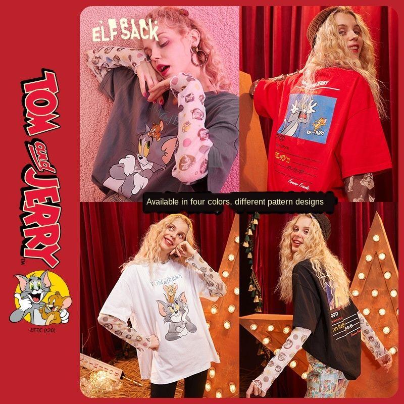 Cat T- andjoint nome Goblin base de bolso T-shirt interior camisa de manga curta primavera 2020 novo das mulheres