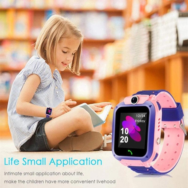 Children's Smart Watch SOS Phone Watchs Smartwatch Kids With Sim Card Photo Waterproof IP67 Wristband Gift For IOS Android