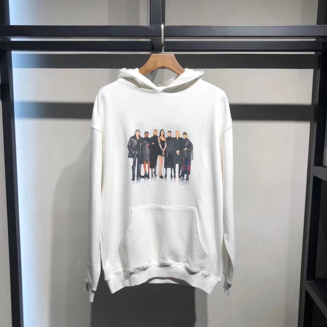 Pop-Band Sweater WeißHoodie Männer Desingers Pullover Mode Sweatshirt beiläufigen Männer Frauen Pullover Paar Straße Pullover M202039