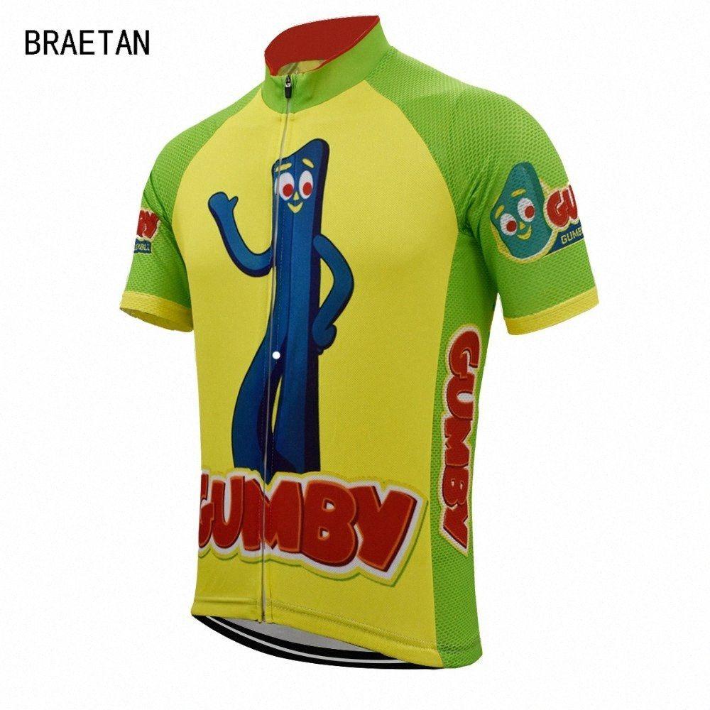 zawY # braetan üst bisiklet 2018 Bisiklet forması komik erkekler kısa kollu yaz bisiklet giyim yol bisikleti aşınma maillot üniforma
