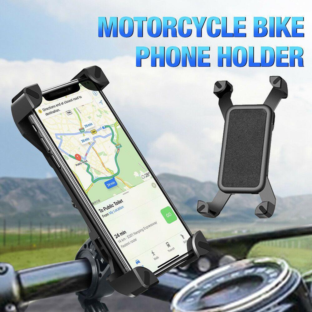 360 Derece Cep Telefonu Tutucu Evrensel Bisiklet Bisiklet Dağı Smartphone Standı iphone Samsung Gidon Klip Cep Telefonu GPS Braketi