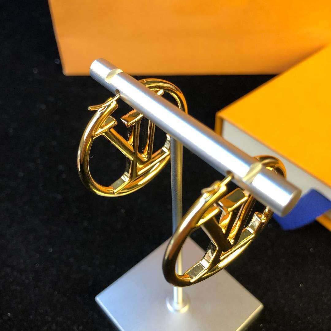 placcato nuovo oro di arrivo 18K giro goccia forma orecchino per il regalo di nozze gioielli delle donne di trasporto libero PS6778A-1