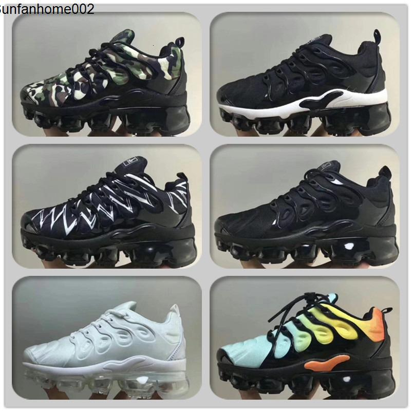 Turned Anthracite Plus Tn Children's Running shoes Speed Red Blue White Shark Baby Toddlers Kids Boys Girls Sneakers Trainers