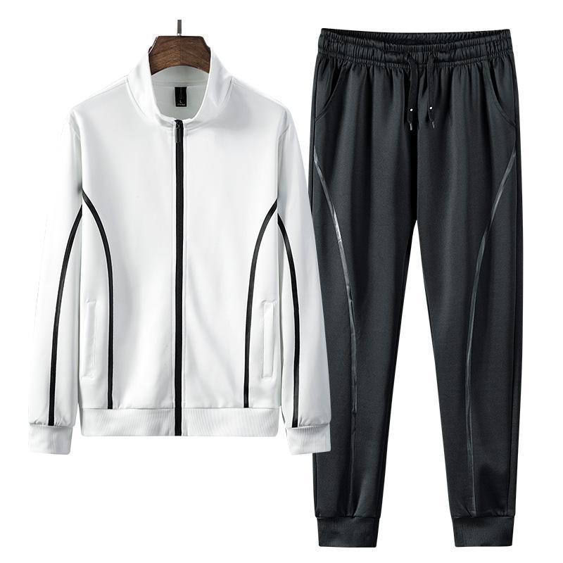 Homens Define New Casual Sportswear Treino Moda camisola Define 2PCS jacket + pants ternos masculino novo Primavera Outono