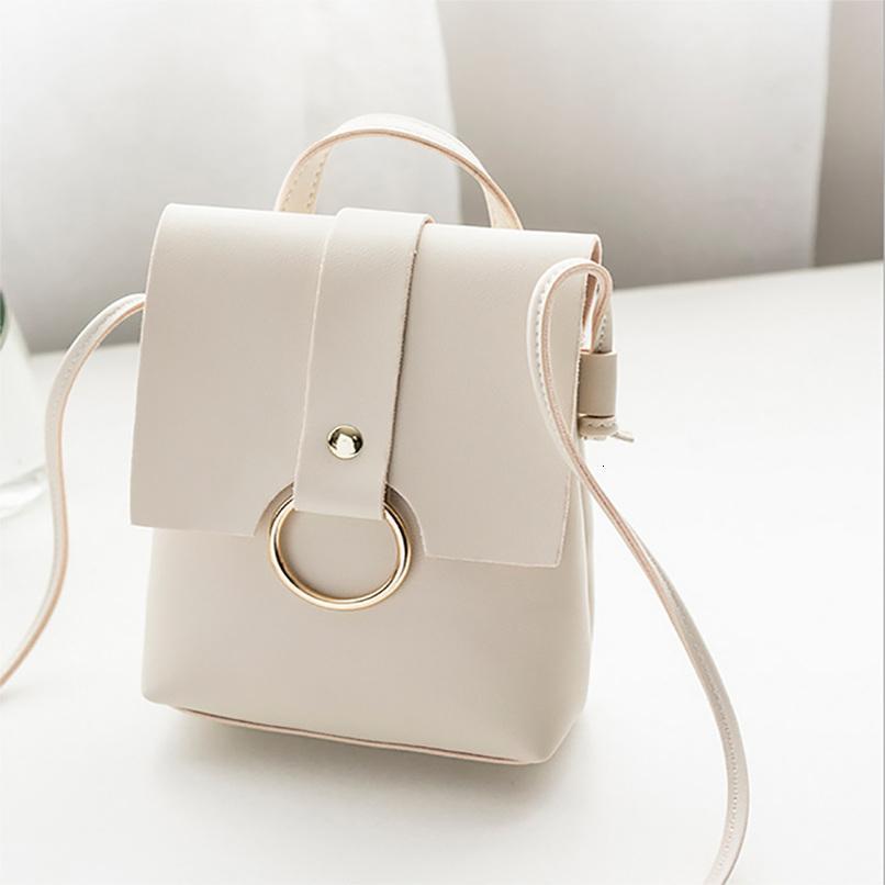 Сплошной простой цвет женская сумка Горячая сумка с винтажной обложкой кольцо мессенджер продажа монеты монет телефон стиль scvks