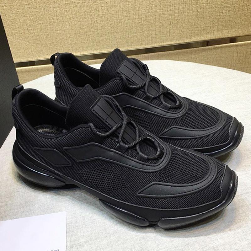Knit Fabric Cloudbust Кроссовки Мужские; S обувь Продажа Мода Классический дышащий Плюс Размер Легкая обувь Роскошные кружева -До Low Top Мужчины Sh