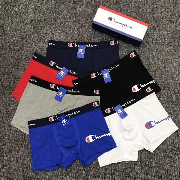 Color al azar Ethika hombre del diseño de la ropa interior boxer para hombre caliente masculino interior de los hombres Boxer Calzoncillos respirable cómodo cuecas