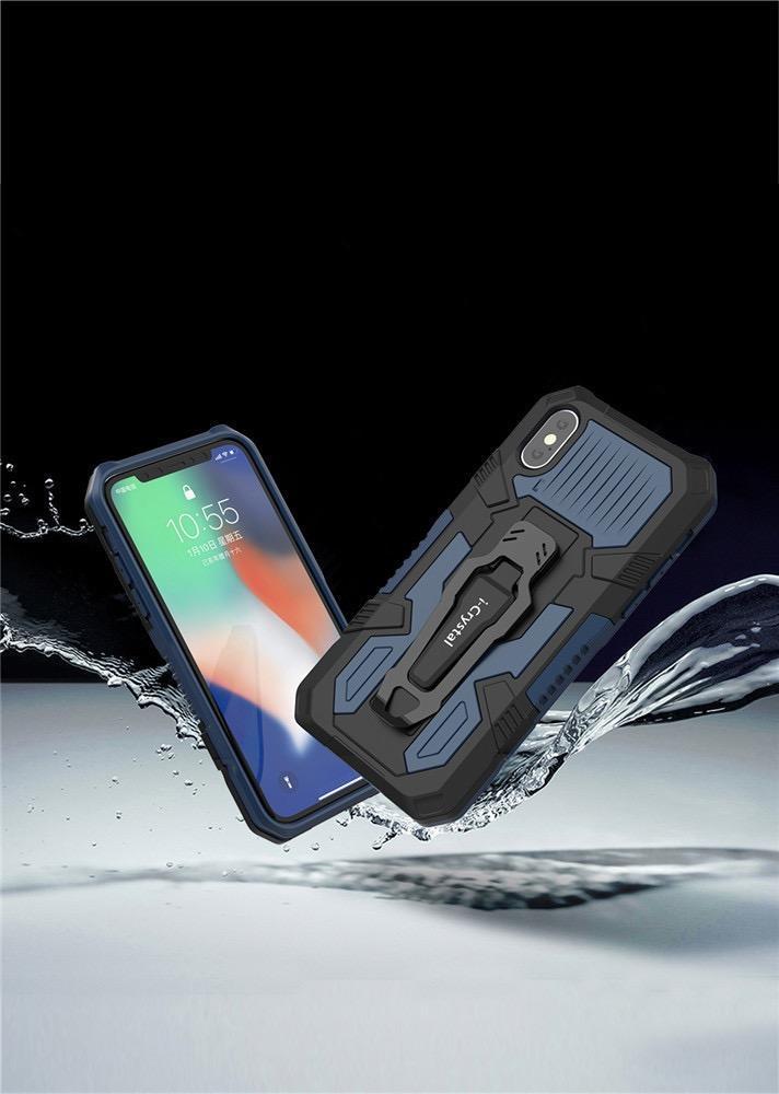 2020 Nouveau cas de téléphone Support voiture pour Iphone Samsung téléphone portable Chute boîtier blindé Défense Case gros