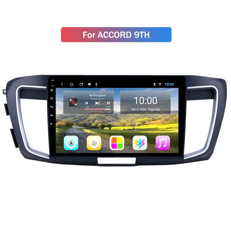 Cheapest USB dello schermo di prezzi Android 2 DIN autoradio 9 pollici FM Bluetooth HD WiFi di tocco AUX-in Car Mp5 Gps Player per Honda ACCORD 9TH