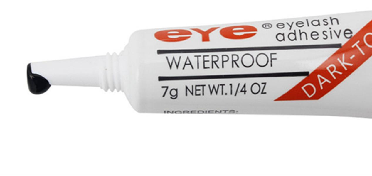 Dropshipping Eye Lash Glue Black White Makeup Adhesive Waterproof False Eyelashes Adhesives Glue White And Black Available dropshipping