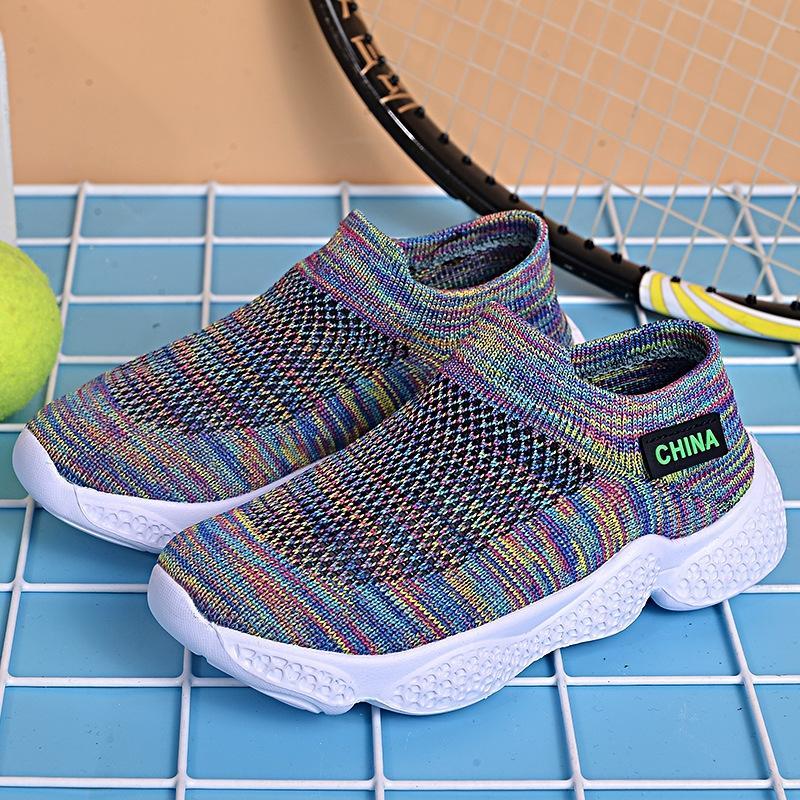 chaussures de sport, et les enfants 2020 nouvelles vente à chaud sport volant chaussettes pour enfants chaussures chaussures étudiants pour enfants