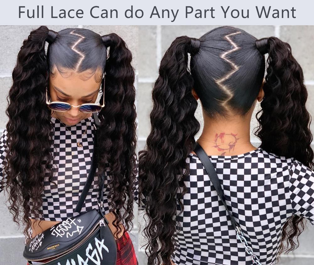 Парик Парик Wave Новая Вода 6X6 Закрытие парик Pre щипковых человеческих волос Парики с ребенком Вода волос волна закрытия