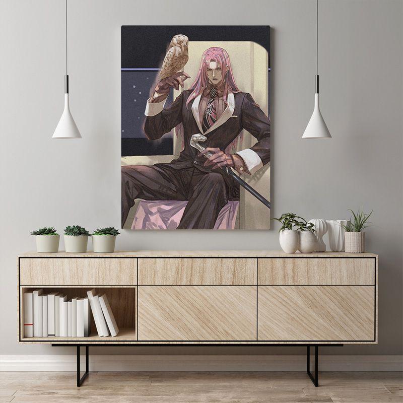 Canvas Modern Diavolo Imagem Home Decor Jojo S Pintura Bizarre Wall Art Japão Anime Papel Prints Poster Modular para sala de estar