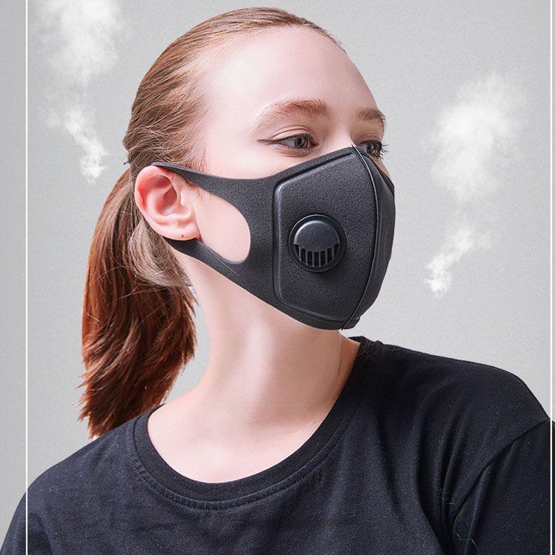 kn95 Masque anti-poussière et, fumée et allergies réglable Masques réutilisables Respirateur Man PM2,5 masque DHL envoi gratuit Stock!