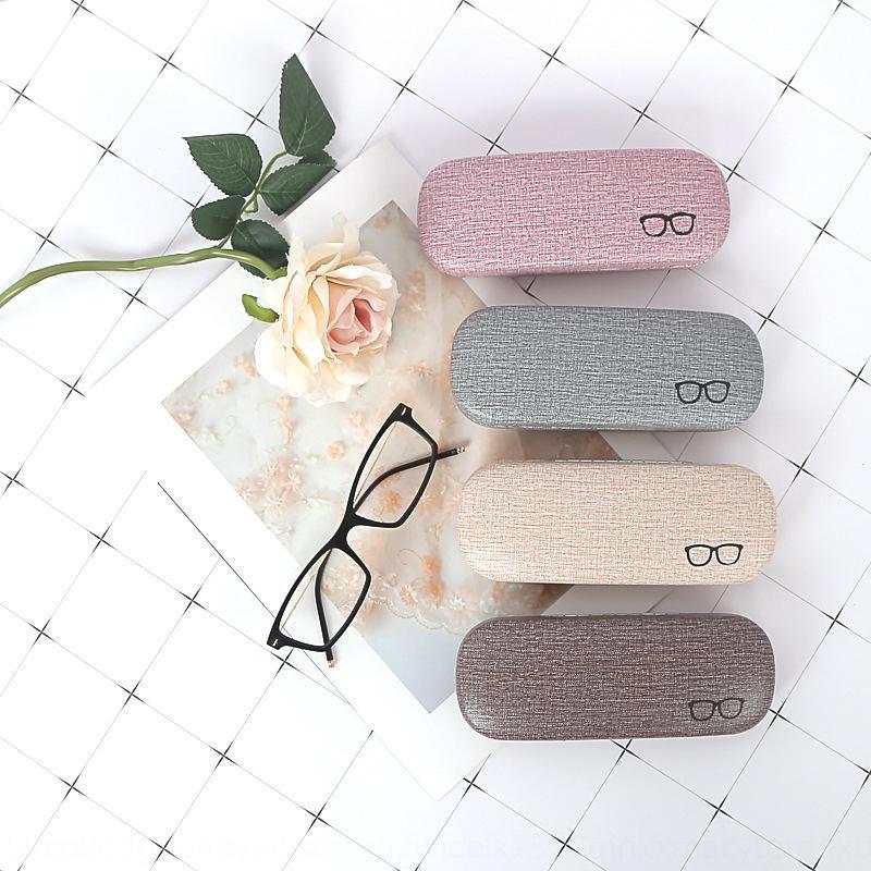 yaratıcı kız ve erkek öğrencilerin deri moda Yeni güneş kutu miyopi vaka casemyopia gözlük boxglasses 0b5gN kutusu