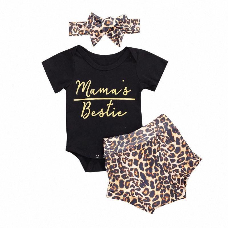 0-24 M Yenidoğan Bebek Kız Giysileri Set Kısa Kollu Romper + Şort + Kafa 3 adet Set Tikg #