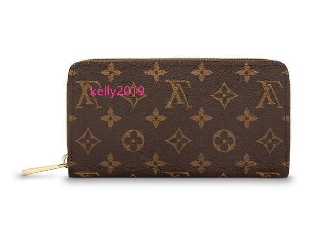 Carteira Zippy M42616 New Mulheres Mostra Moda exóticas bolsas de couro Bolsas Iconic Evening Embreagens Cadeia Carteiras Purse