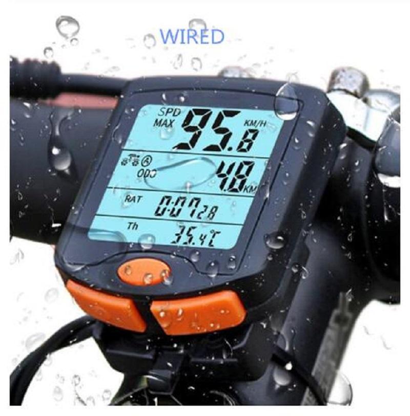 YT-813 Ordinateur de vélo vélo compteur de vitesse numérique Ordinateur de vélo multifonction Sport étanche Capteurs Ordinateur de vélo Compteur de vitesse