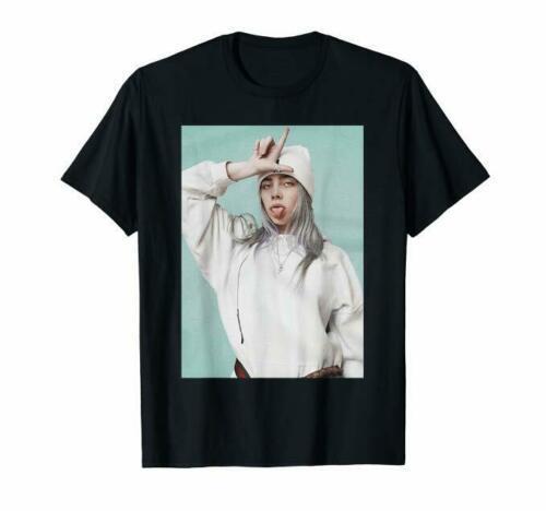 Billie Eilish maglietta Billie Eilish Fan T-Shirt Nero S-5XL Best Selling maschio naturale Fitness Moda regalo