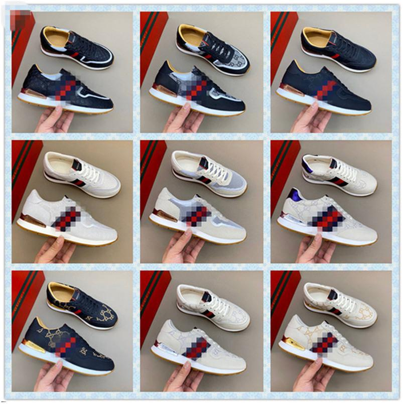 Abelhas de alta qualidade bordados Designer Shoes Mens Womens ACE Genuine Leather Sneakers Branco Luxo calçados casuais New Best Gift