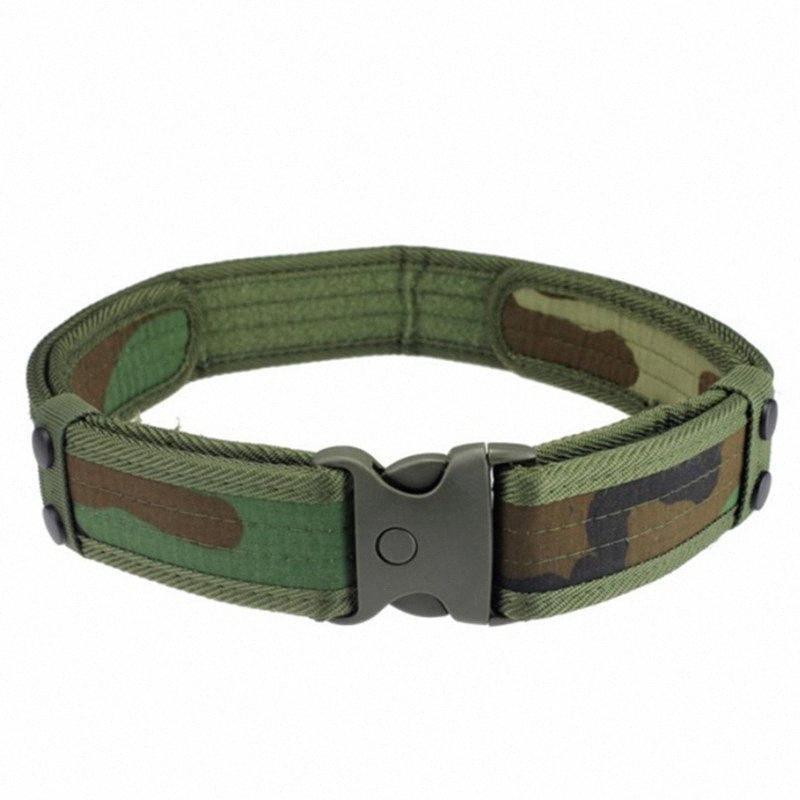 Táctico Cinturón hebilla de cinturón que va de excursión Trekking Caza Formación Batalla APS2 #