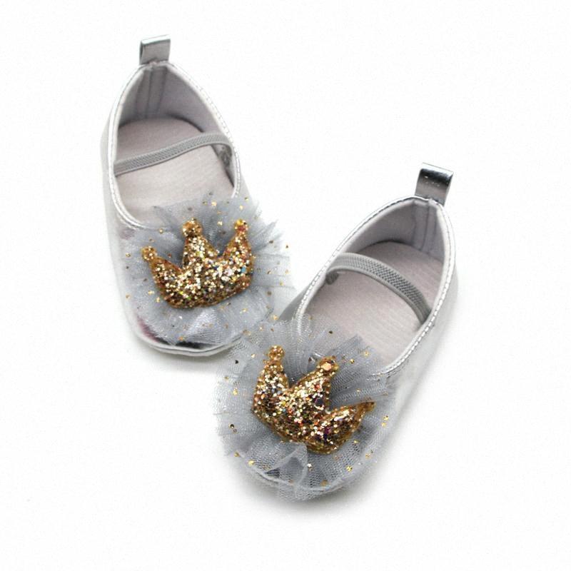 2020 Babyschuhe Erste Wanderer-Mädchen-Schuhe für Kinder Neugeborenes Baby Pailletten Spitze Schmetterling Prewalker weich Sohle Einzel Sandalen # 4 g0Gj #